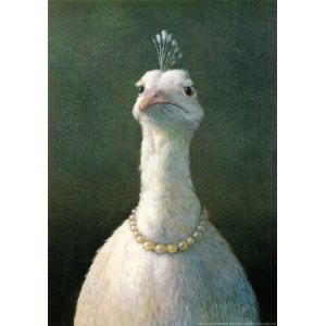 Michael Sowa Fowl with Pearls