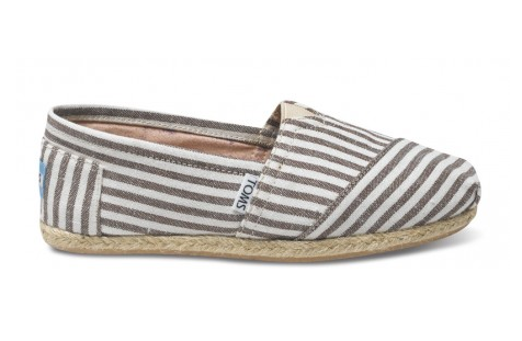 Toms brown stripe