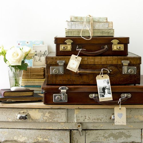 Vintage suitcases_www.housetohome.co.uk