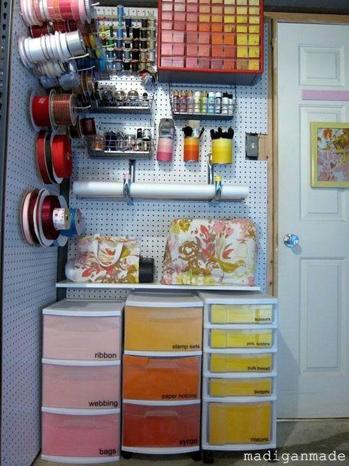 Craftroomcolorfulstoragepeg-board