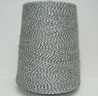 Black and white twine 11