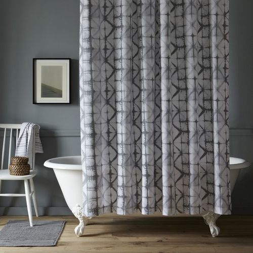 Shibori Shower Curtain By West Elm $40